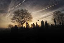 Halloween graveyard von Leighton Collins