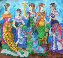 ladies that lunch von Paula Bettam