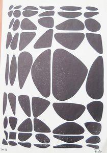 Linolschnitt von Theodor Fischer