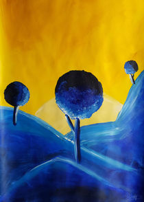 Landscape Blue by art-gallery-bendorf