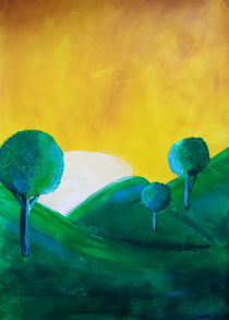 Landscape Green by art-gallery-bendorf