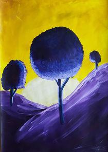 Landscape Purple von art-gallery-bendorf