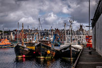 Stornaway Harbour by Colin Metcalf