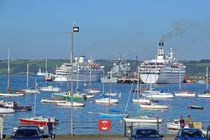 Harbour and Queen's Wharf, Falmouth by Rod Johnson