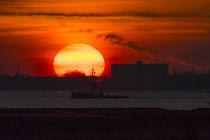Sonnenuntergang an der Holländischen Küste von ropo13
