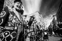 Pearly Kings and Queens of London Hoxton Brick Lane von John Williams