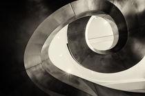 Metal Spiral Staircase London by John Williams