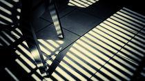 Shadow Slit Abstract Poster von John Williams