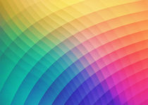Spectrum Bomb Fruity Fresh HDR Rainbow Colorful Experimental Pattern by badbugsart