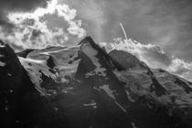 Großglockner schwarz-weiß von Harald Jakesch