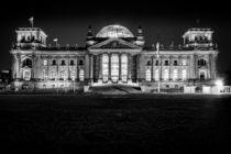 Berlin bei Nacht - Reichstag #5 von Colin Utz