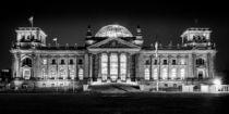 Berlin bei Nacht - Reichstag #4 von Colin Utz
