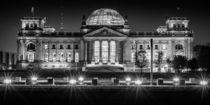 Berlin bei Nacht - Reichstag #2 von Colin Utz