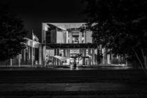 Berlin bei Nacht - Bundeskanzleramt #1 von Colin Utz