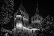 Trier bei Nacht - Trierer Dom von Colin Utz