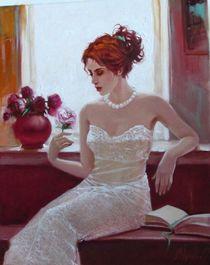 White rose by Sergey Ignatenko