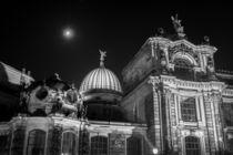 Dresden bei Nacht - Hochschule für Bildende Künste #1 von Colin Utz