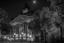 Dresden bei Nacht - Kunsthalle im Lipsius-Bau #1 von Colin Utz