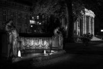 Stuttgart bei Nacht - Schicksalsbrunnen am Opernhaus #1 von Colin Utz