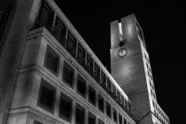 Stuttgart bei Nacht - Stuttgarter Rathaus #2 by Colin Utz
