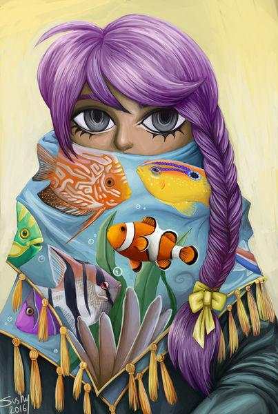 Fishscarf