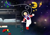 Kleiner Astronaut von Kim Nadine Adamek