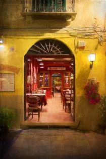 Lucca Cafe von Stuart Row