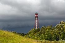 Unwetter am Leuchtturm Campen by ropo13