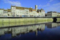 Besançon im Wasserspiegel von Patrick Lohmüller