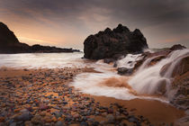 Rotherslade Bay cascade by Leighton Collins