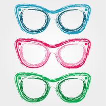 Funky eye glasses von Shawlin Mohd