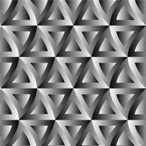 Optical illusion with triangles  von Shawlin Mohd