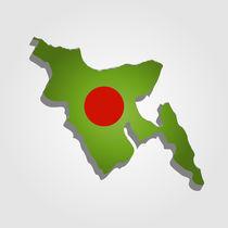 Map of Bangladesh  by Shawlin Mohd