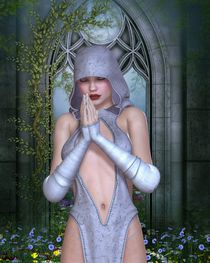 Priestess by turtleheart