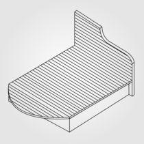 wooden bed von Shawlin Mohd