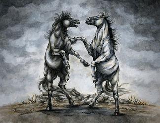Thebattleofhorses-color