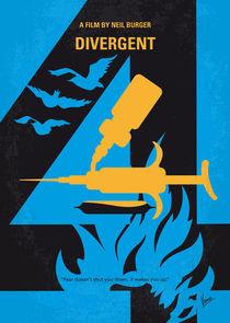 No727 My DIVERGENT minimal movie poster von chungkong