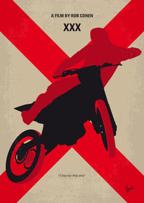 No728 My xXx minimal movie poster by chungkong
