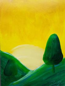 Landscape Green II by art-gallery-bendorf