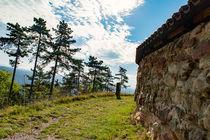 Schlossmauer Leuchtenburg Kahla by mnfotografie