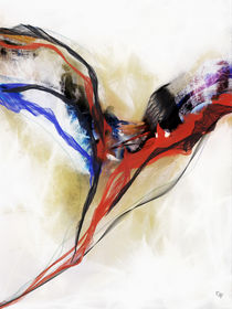 Angel painting abstract - Engel abstrakt von Chris Berger