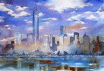 Skyline - NYC von Thomas Habermann