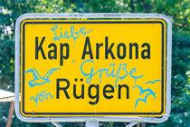 Kap Arkona Straßenschild by mnfotografie