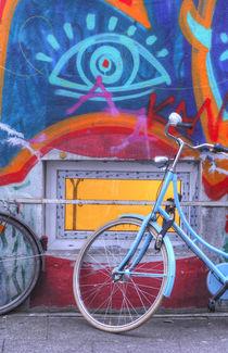 Fenster bei mit Graffiti bei Abenddämmerung, Ostertorviertel, Viertel, Bremen by Torsten Krüger