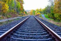 Eisenbahnschienen by mnfotografie