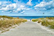 Weg zum Ostseestrand von mnfotografie