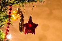 Stern am Weihnachtsbaum von mnfotografie