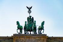 Quadriga Brandenburger Tor Berlin by mnfotografie