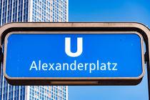 U-Bahn Alexanderplatz von mnfotografie