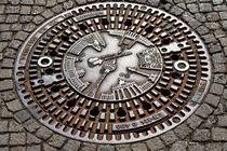 Kanaldeckel in Berlin von mnfotografie